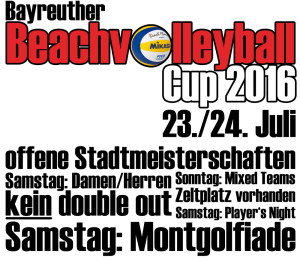 Permalink to:Bayreuther Beach Cup 2016